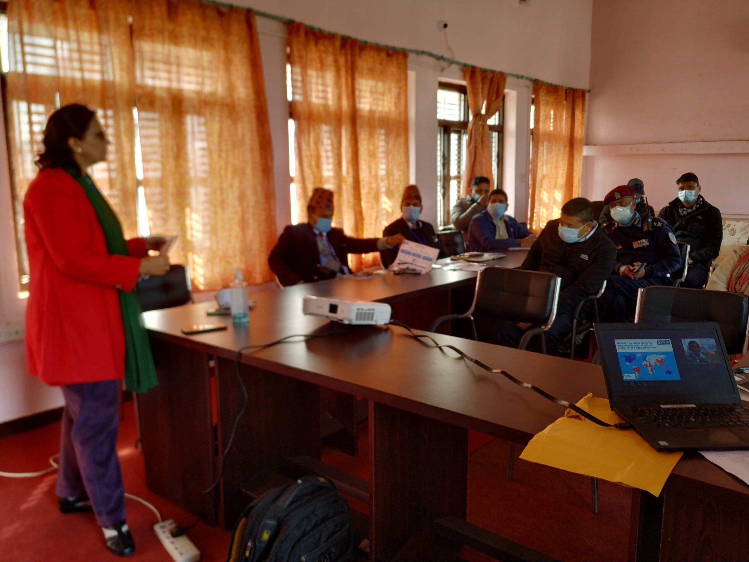 जिल्ला परियोजना सल्लाहकार समितीको समिक्षा बैठक सम्पन्न