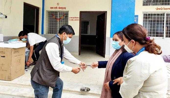 वीरेन्द्रनगरमा २५ शैयाको कोभिड अस्पताल सञ्चालन