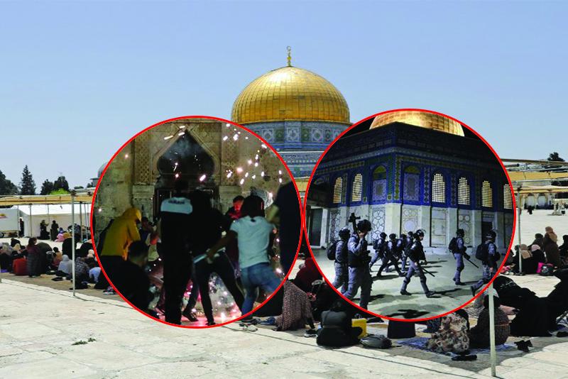 इजरायल र प्यालेस्टाइनबीच हिंसा पुन: भड्कियो, १६९ जना घाइते
