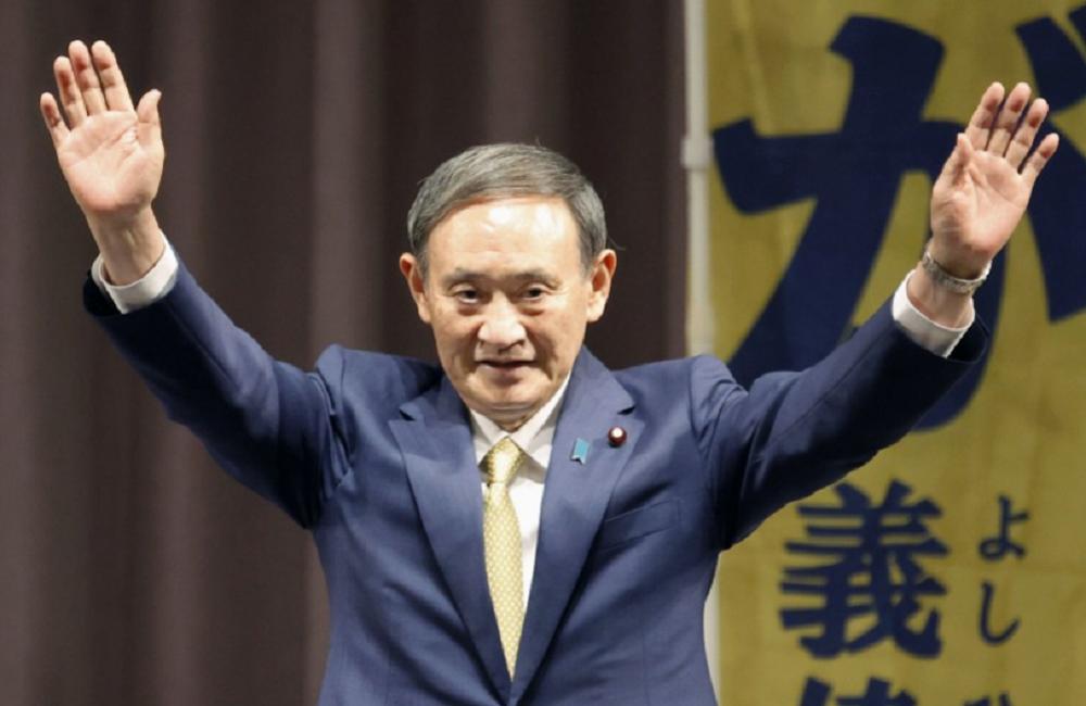 जापानी प्रधानमन्त्री सुगाले पद छाड्ने घोषणा गरे